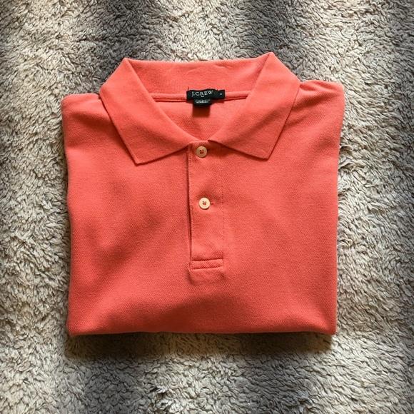 👕 J. Crew Classic Polo Men's Small Pink